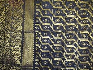 Shitalakshya River - Portion of a sari woven on the banks of Shitalakshya River