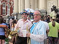 BP Dead Pelicans Gallier Hall Horns.JPG