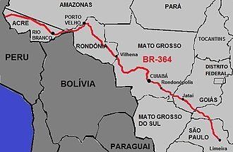 Interoceanic Highway - BR-364