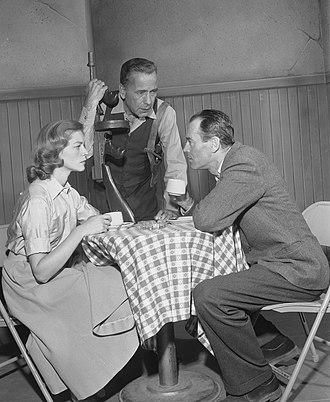 The Petrified Forest - Lauren Bacall, Humphrey Bogart, and Henry Fonda in the 1955 live televised version