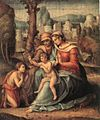 Bacchiacca - Madonna with Child, St Elisabeth and the Infant St John the Baptist - WGA01104.jpg