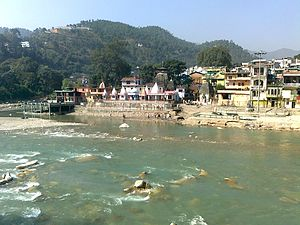 Sarju River - Bagnath Temple at Bageshwar is situated at the confluence of Gomati and Sarju