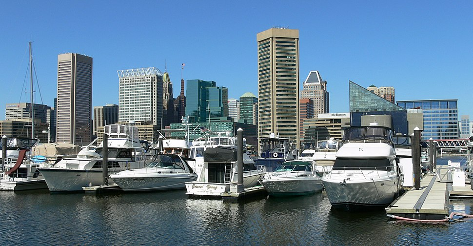 Baltimore Harbor from rest