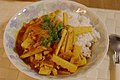 Bamboo shoot curry on rice (2446023942).jpg