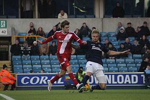 Patrick Bamford - Bamford playing for Middlesbrough against Millwall in 2015