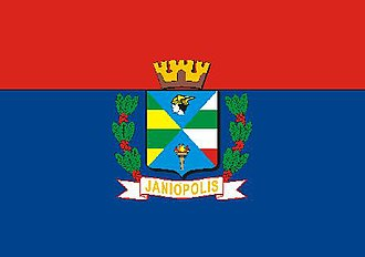 Janiópolis - Image: Bandeira de Janiopolis