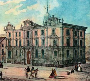 Bank in Winterthur - The Bank in Winterthur, est. 1862, in Winterthur, Switzerland