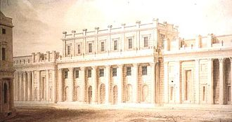 John Soane - Bank of England Entrance facade, 1818–1827