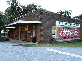 Banks, Alabama - Banks Recreation Hall in Banks, Alabama