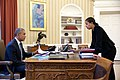 Barack Obama meets with National Security Advisor Susan E. Rice in the Oval Office, 2015.jpg