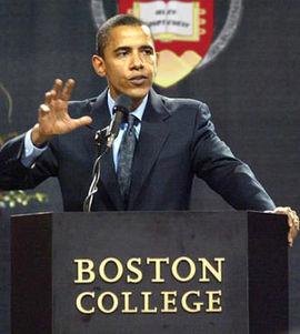 Obama a Boston