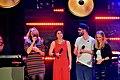 Barbara Schöneberger, Ann Sophie & Mark Forster – Unser Song für Österreich Clubkonzert - Live Show 02.jpg