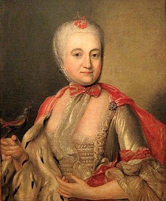 Sanguszko - Barbara Sanguszko née Dunin