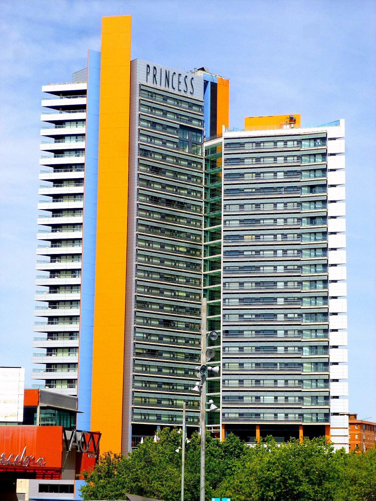 Hotel princess barcelona viquip dia l 39 enciclop dia lliure for Hotel barcelona barcelona
