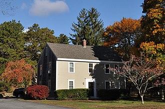 Gideon Hawley House - Image: Barnstable MA Gideon Hawley House