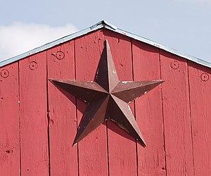 Primitive decorating - Image: Barnstar Proud