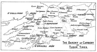 Corcu Loígde - Carbery in Tudor times