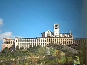 Sacro Convento - Basilica and monastery.