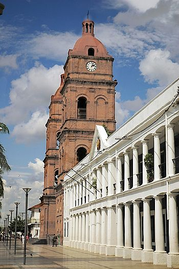 Basilica Menor de San Lorenzo Santa Cruz de la Sierra