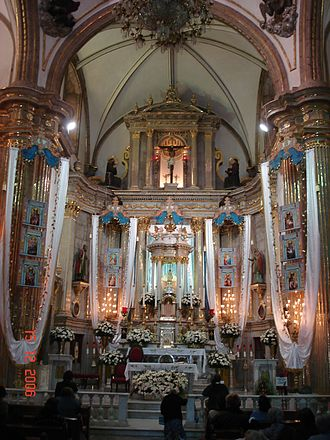 Basilica of Our Lady of Zapopan - Interior of the Basilica of Zapopan