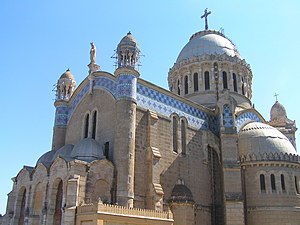 Religion in Algeria - Notre Dame d'Afrique (Our Lady of Africa) is a Roman Catholic church that is the basilica of Algiers