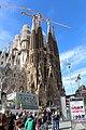 Basilique Sagrada Familia façade nord est Barcelone 13.jpg