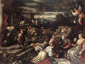 Francesco Bassano the Younger - Summer, Hermitage Museum, St. Petersburg (1570-1580).