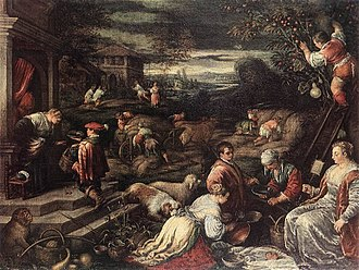Francesco Bassano the Younger - Summer, Hermitage Museum, St. Petersburg (1570-1580)