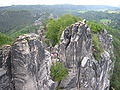 Bastei - Die Bastei vom Elbe-Aussichtspunkt.jpg