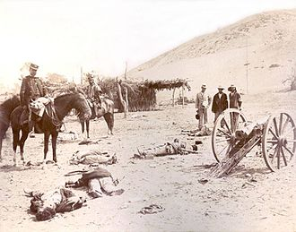 The Chilean Army in the battlefield of the Battle of Chorrillos, 1883 Batalla de Chorrillos.jpg