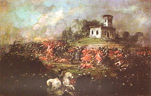 Battle of Pavón - Battle of Pavón by Ignacio Manzoni at Museo Mitre