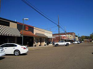 Batesville, Mississippi - Downtown Batesville