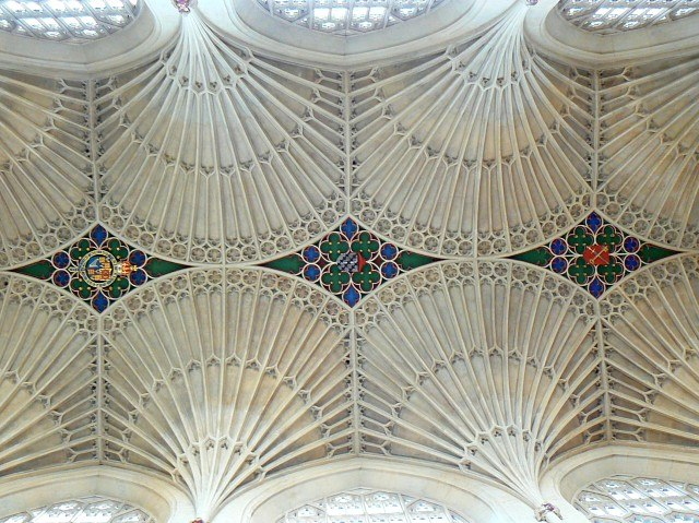 Bath Abbey, ceiling - geograph.org.uk - 717407