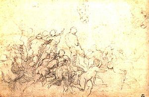 Battle of Cascina (Michelangelo) - Image: Battle of cascina 4