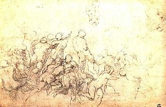 Battle of Cascina (Michelangelo) - Image: Battle of cascina 4