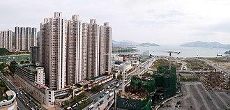Public housing estates in Tseung Kwan O - Bauhinia Garden