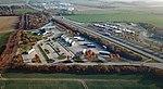 Bautzen Autobahnraststätte Oberlausitz Aerial.jpg