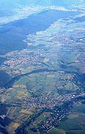 Bayern Eschau and Mönchberg from north IMG 8272.JPG