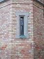 Bazilika, lépcsőházi ablak, 2017 Máriaremete.jpg