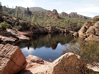 Pinnacles National Park - Bear Gulch Reservoir