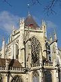 Beauvais (60), église Saint-Étienne, chevet, parties hautes 2.JPG