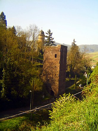 Zell (Mosel) - Pulverturm and Viereckiger Turm