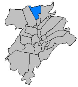 Beggen - Beggen, in northern Luxembourg City.