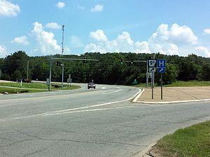 Arkansas Highway 9 - AR 9B northern terminus at AR 9