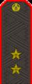 Belarus Police—02 Lieutenant General rank insignia (Gunmetal).png