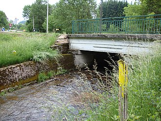 Belleroche - The bridge over the Botord, in Belleroche