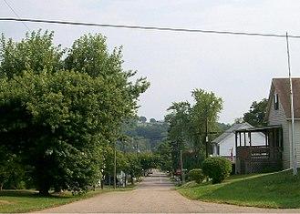 Belmont, Ohio - Streetside scenery