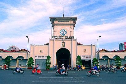 Làm sao để đến Chợ Bến Thành bằng phương tiện công cộng - Về địa điểm
