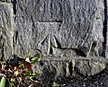 Bench Mark, Bangor - geograph.org.uk - 1743421.jpg