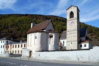 Architecture of Switzerland - Abbey of St. John